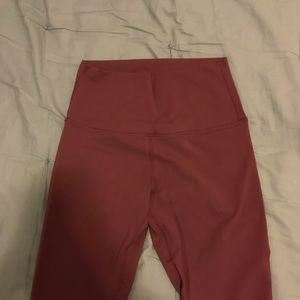 KEFI Pink full length leggings